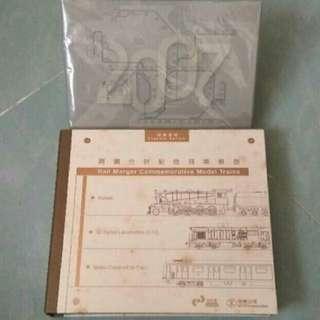 兩鐵合併套裝 (列車模型+名信片)