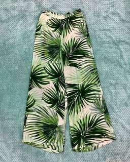 Palm wide leg pants