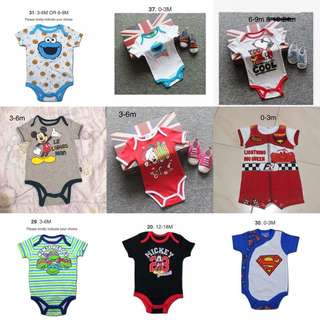 ‼️CLEAR STOCK Buy 3 Free 1 ‼️Baby Romper offer from 21 Apr to 1 May