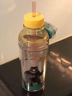 STARBUCKS 兩用冷水瓶 (台灣版)