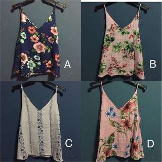 Summer tops, 2 for php250