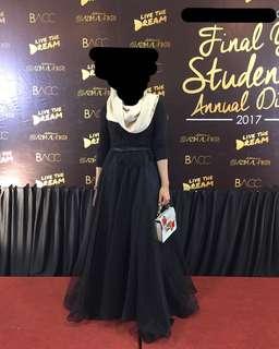 Black Lace Dress For Rent