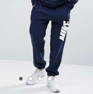 Brand new Nike navy trackies