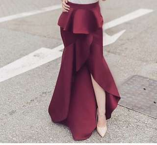 Apartment8 Ripples Maxi Skirt