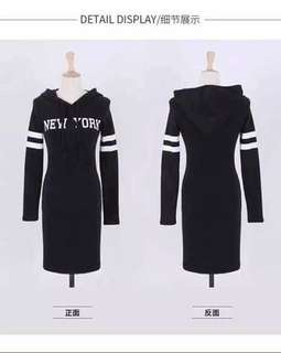 Hoodie New York Dress