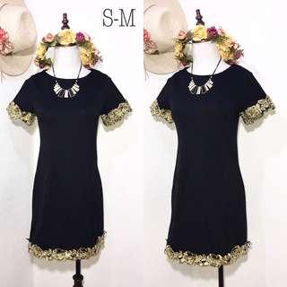 Imported Black Fashion Dress B21