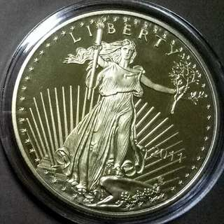 USA 2011 Walking Liberty 50 Dollars Gold Commemorative Coins
