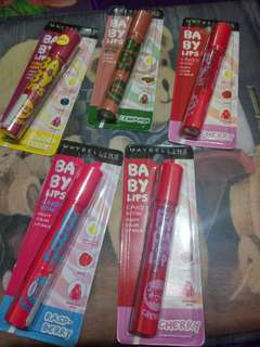 2PCS MAYBELLINE BABY LIPS CANDY NOW