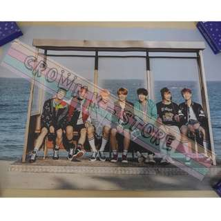 [CRAZY DEAL 90% OFF FROM ORIGINAL PRICE][READY STOCK]BTS KOREA OFFICIAL POSTER!!NEW! OFFICIAL ORIGINAL FROM KOREA (SELAED) (PRICE NOT INCLUDE POSTAGE) SHIP USING TUBE