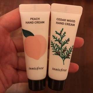 Innisfree Hand Cream Set - Cedar Wood Peach