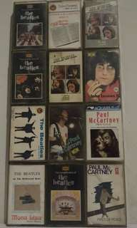 Kaset Pita The Beatles Ada John Lennon & Paul McCartney (100.000 3 Kaset Bebas Pilih)