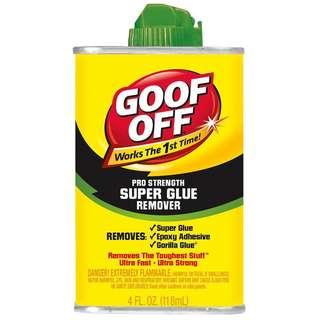 Goof Off Super Glue Remover