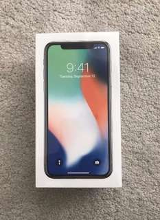 Iphone X 256GB Not Opened!