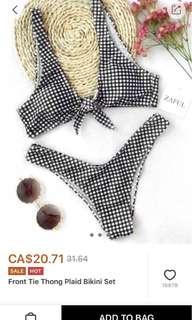 Zaful Bikini size Medium