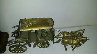 Solid brass carriages