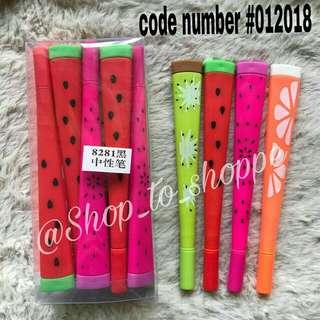 Watermelon pens