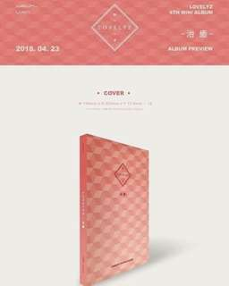 [PREORDER] LOVELYZ - CURE