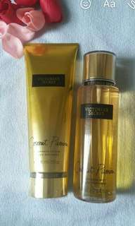 Body Mist and body lotion