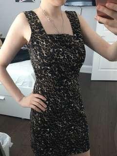 F21 Leopard Dress (size S)