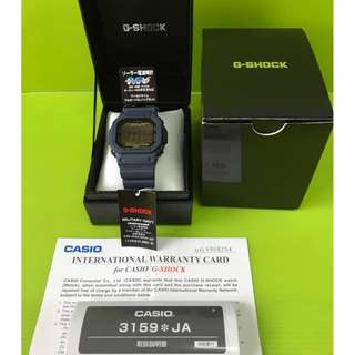 Casio G-Shock GW-M5610NV-2JF Military Navy (JDM Spec)