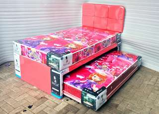 Mr Coil Twin 3In1 Bed Comfort Deluxe 120x200 Sofia