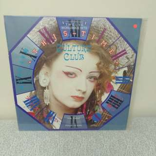 87 the culture club lp黑膠唱片