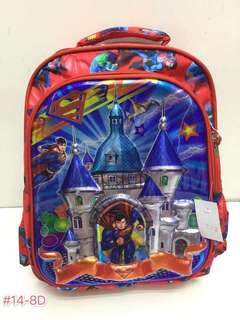 APR 18 KIDS SCHOOL BAG (PP)#IK