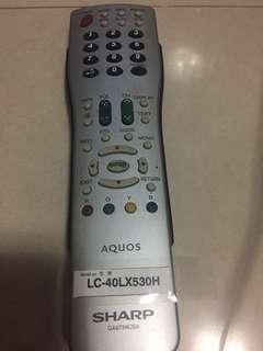 Sharp原廠電視搖控掣