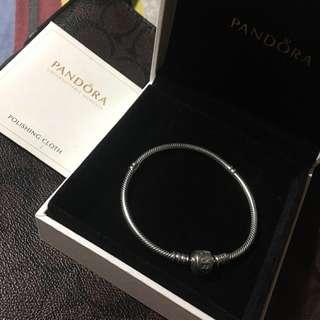 Pandora Bracelet Authentic 925 Silver Brand New 18cm