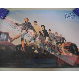 [CRAZY DEAL 90% OFF FROM ORIGINAL PRICE][READY STOCK]BAP B.A.P KOREA OFFICIAL POSTER!NEW! OFFICIAL ORIGINAL FROM KOREA  (PRICE NOT INCLUDE POSTAGE) SHIP USING TUBE