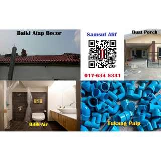 Ampang Tukang Baiki Rumah dan Paip Samsul Alif 017-634 8331