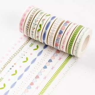 (PO) Summertime Basic Washi Tapes Part 1