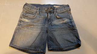 Clearance - $4 Denim shorts (10-11 years old)
