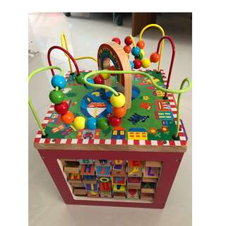 My Busy Town (wooden activity cube)
