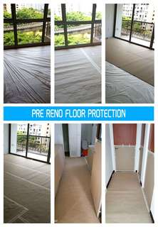 Professional floor protection specialise