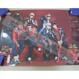 [CRAZY DEAL 90% OFF FROM ORIGINAL PRICE][READY STOCK]2PM KOREA OFFICIAL POSTER!NEW! OFFICIAL ORIGINAL FROM KOREA  (PRICE NOT INCLUDE POSTAGE) SHIP USING TUBE