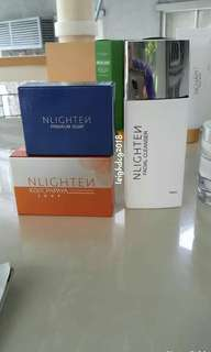 Nlighten premiun and facial cleanser