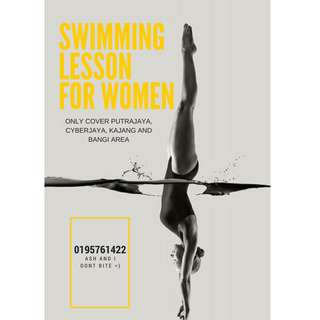 SWIMMING LESSON FOR WOMEN