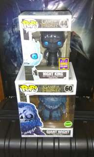 [PRE-ORDER] Night King Translucent & Giant Wight Game of Thrones Funko Pop Bundle