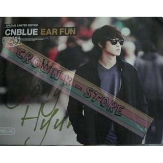 [CRAZY DEAL 90% OFF FROM ORIGINAL PRICE][READY STOCK]CNBLUE KOREA OFFICIAL POSTER!NEW! OFFICIAL ORIGINAL FROM KOREA  (PRICE NOT INCLUDE POSTAGE) SHIP USING TUBE