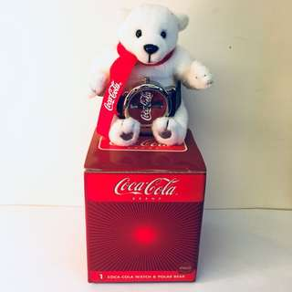 Coca Cola Watch & Polar Bear