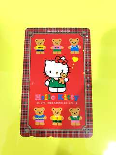 Sanrio Hello Kitty 日本電話咭