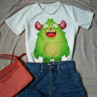 Cute monster shirt