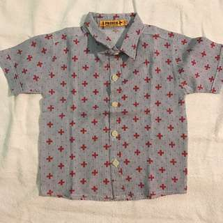 Printed Shirt for boy (size 12-18months)