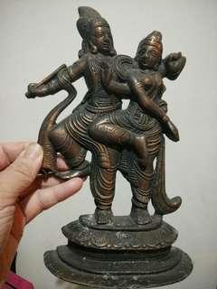 Indian ornamental dancing god