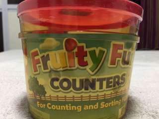 BNIB Learning Resources Fruity Counters