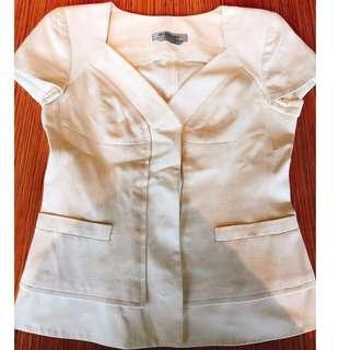 SPORTMAX 米白色外套