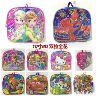 APR 18 6D KIDS SCHOOL BAG (PP)