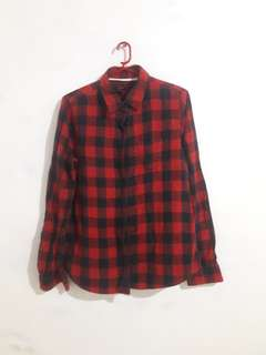 Forever 21 Flannel Top