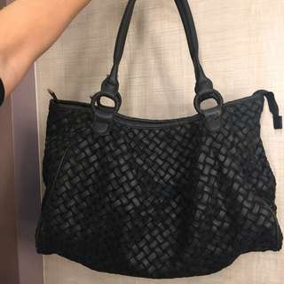 Bottega Venetta BV Inspired Weave Handbag